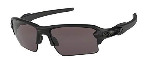 Oakley Flak 2.0 XL OO9188 918873 59M Matte Black/Black Prizm Sunglasses For Men+BUNDLE with Oakley Accessory Leash Kit