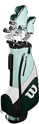 Wilson Golf Profile SGI Women's Complete Golf Set, Cart Bag, Long Right Hand