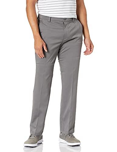Amazon Essentials Men's Classic-Fit Stretch Golf Pant, Gray, 36W x 32L