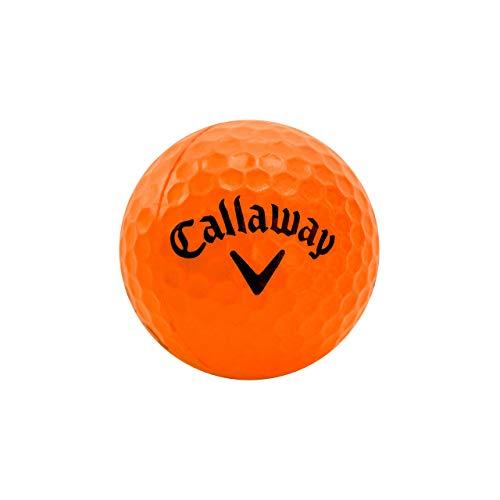 Callaway HX Soft-Flight Practice Golf Balls Colored Foam Balls, Orange, 18 Pack