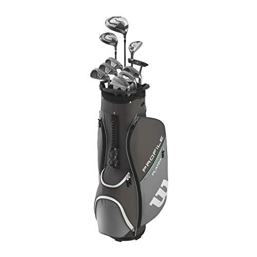 Wilson Golf Profile Platinum Packageset, Women's Right Handed, Cart