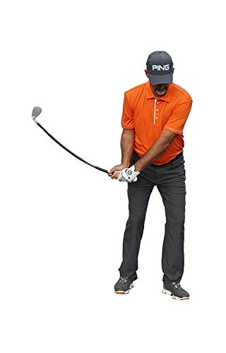 Orange Whip Wedge, Golf Short Game Swing Trainer Aid for Increased Precision and Rhythm
