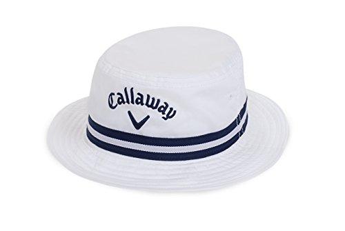 Callaway 2016 Bucket Hat, White, Small/Medium