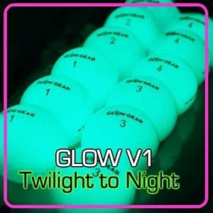 Glow V1 Glow Golf Balls - 12 Count