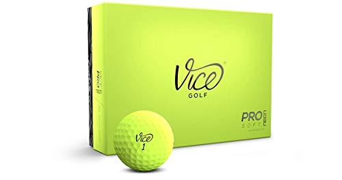 Vice Pro Soft Golf Balls, Lime (One Dozen)