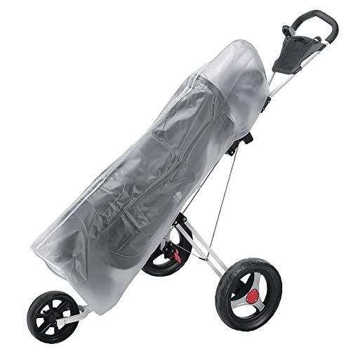 Adidat Waterproof PVC Rain Cover for Golf Bag & Cart