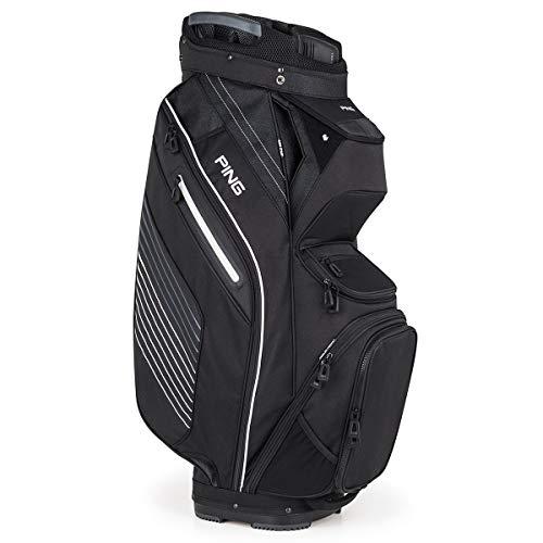 PING 2019 Pioneer Cart Bag (Black)