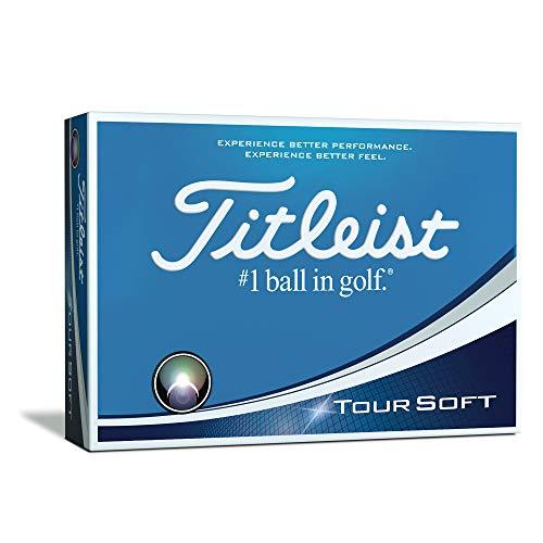 Titleist Tour Soft Golf Balls, Prior Generation, White (One Dozen)
