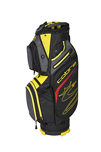 Cobra Golf 2020 Ultralight Cart Bag (Black-Yellow)