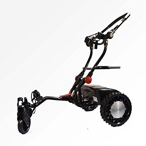 FTR Caddytrek R2 Black Robotic Electric Golf Cart Caddy Trek
