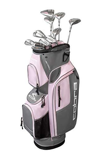 Cobra Golf 2019 XL Speed Complete Golf Set (Women's, Silver-Pink, Right Hand, Graphite, Ladies Flex) (BX3823RGLCS13)