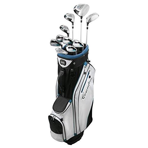 PowerBilt Countess 15 Piece Ladies Golf Package Set - Standard Cyan