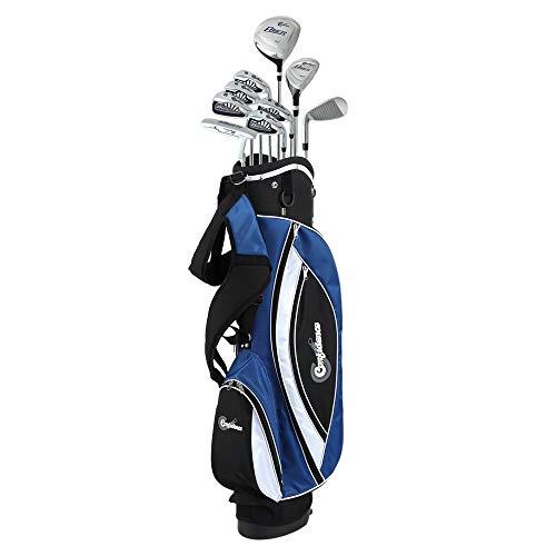 Confidence Golf Mens Power V3 Hybrid Club Set & Stand Bag