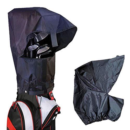 Amy Sport Golf Bag Rain Cover Waterproof Hood Protection Black Pack Durable Lightweight Club Bags Raincoat for Men Women Golfer