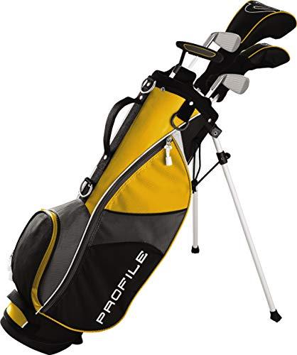 Wilson Youth Profile JGI Complete Golf Set - Right Hand, Medium, Yellow
