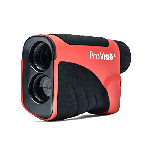 Provisio S Golf Rangefinder - with Slope and Non-Slope Feature - 650Yards - Distance & Speed Measurement