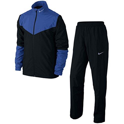 Nike Golf Storm-FIT Rainsuit (Black/Game Royal, Small)