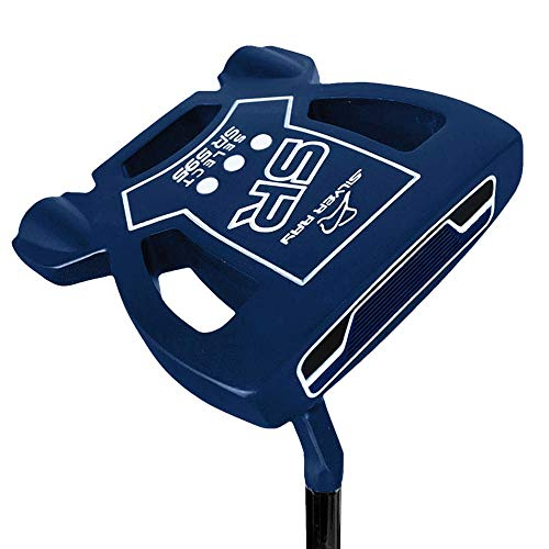 Ray Cook Golf- Silver Ray Select SR595 Putter 35' Navy Blue