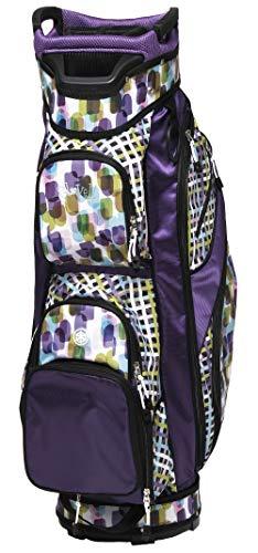 Glove It Ladies' Golf Bag - Lightweight, Nylon Cart Bag with 14 Dividers, Putter Well, Rain Hood & 9 Easy-Access Pockets, Geo Mix