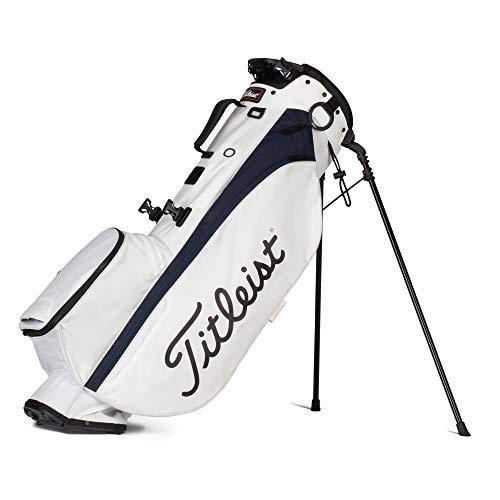 Titleist - Players 4 Golf Bag - White/Navy