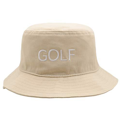 Bucket Hat 100% Cotton Packable Summer Travel Beach Sun Hat Outdoor Cap Unisex