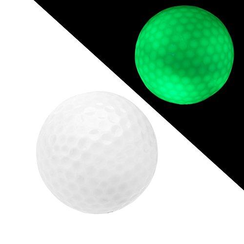 Night Flyer Golf Light Up High Visibility LED Golf Ball, Green (DNG010)