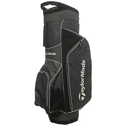 TaylorMade 2017 Golf Bag TM Cart Bag 5.0 GryWht, Grey/White