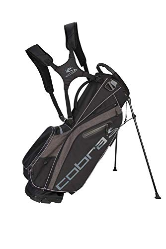 Cobra Golf 2019 Ultralight Stand Bag (Black)