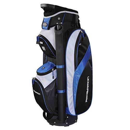 Prosimmon Tour 14 Way Cart Golf Bag Black/Blue