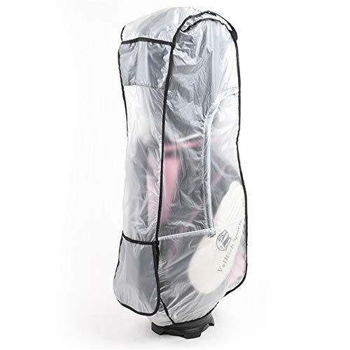 Golf Bag Rain Cover,PVC Clear Rain Cover for Golf Bag,Golf Bag Rain Protection Cover for Golf Push Carts,Waterproof Hood for Golf Bag,Heavy Duty Club Bags Raincoat for Golfer