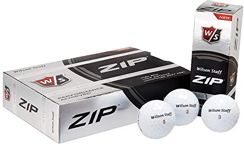 Wilson Staff Zip Golf Balls 24-Ball Pack