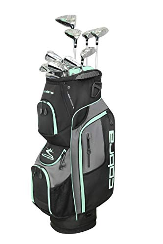 Cobra Golf 2019 XL Speed Complete Set (Women's, Black-Mint, Right Hand, Graphite, Ladies Flex)