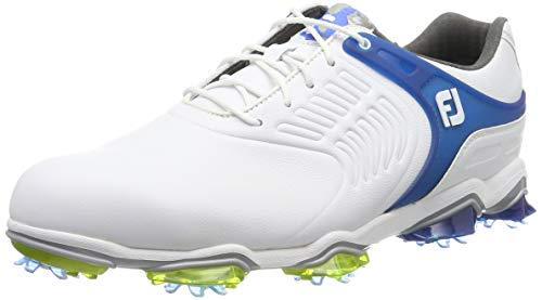 FootJoy Men's Tour-S Previous Season Style Golf Shoes White 9 M Blue, US