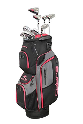 Cobra Golf 2019 XL Speed Complete Set (Women's, Black-Mint, Right Hand, Graphite, Ladies Flex)