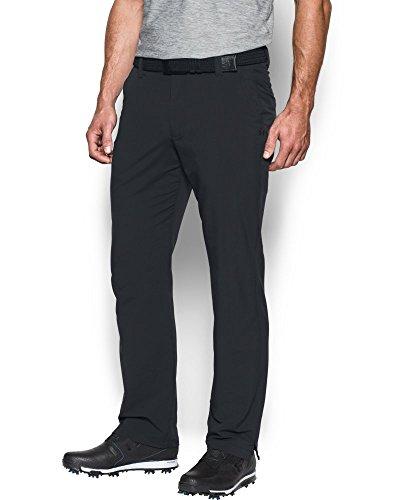 Under Armour Men's Match Play Golf Pants , Black (001)/Black , 34/30