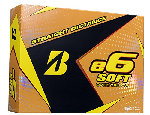 Bridgestone E6 Soft Golf Balls (One Dozen)