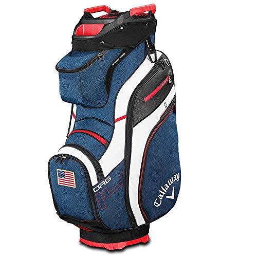Callaway Golf 2019 Org 14 Cart Bag, Navy/White/Red/Usa Flag