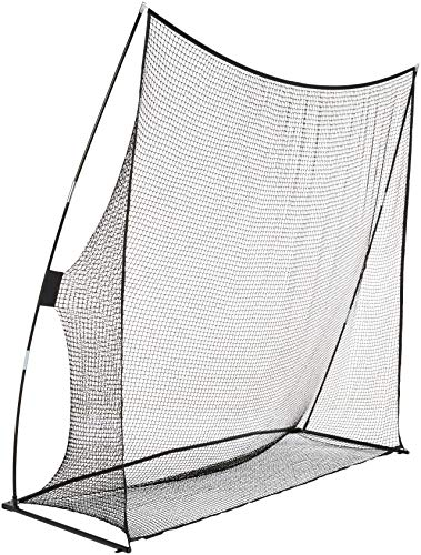 Amazon Basics Portable Driving Practice Golf Net, 8-Foot x 8-Foot