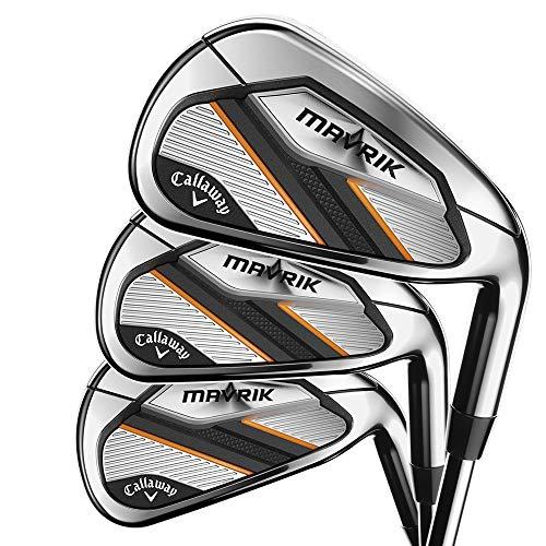 Callaway Golf 2020 Mavrik Iron Set (Right Hand, Steel, Regular, 4 Iron - PW, AW) 8 Clubs