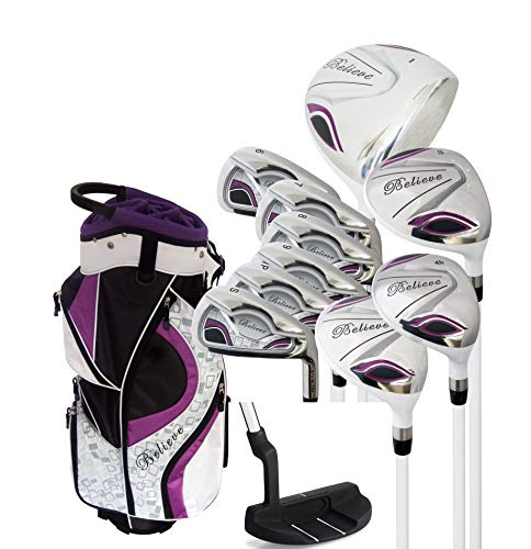 Founders Club Believe Ladies Complete Golf Set - Purple - Right-Handed