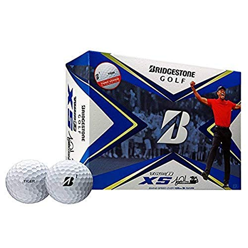 Bridgestone Golf Tour B XS - Tiger Woods Edition, White