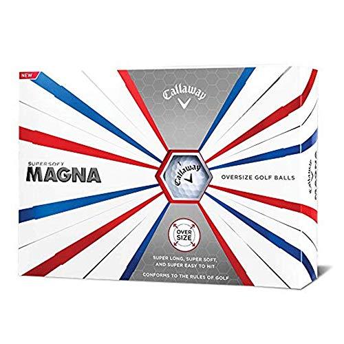 Callaway 2019 Supersoft Magna Golf Balls White 12