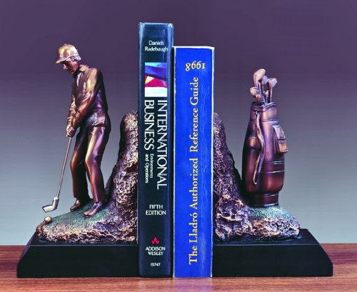 Golfer Bookends