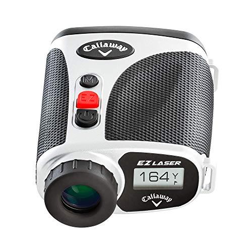 Callaway EZ Laser Golf Rangefinder Minimizes Hand-Shaking, With Slope Measurement 5X Magnification 800 Yards Range