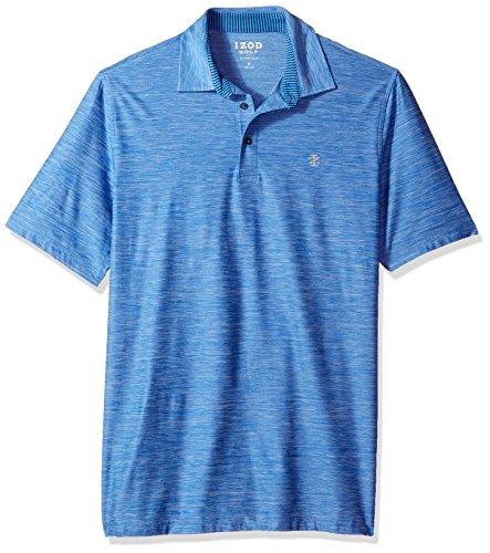 IZOD Men's Big Golf Title Holder Short Sleeve Polo, Nautical, Large Tall
