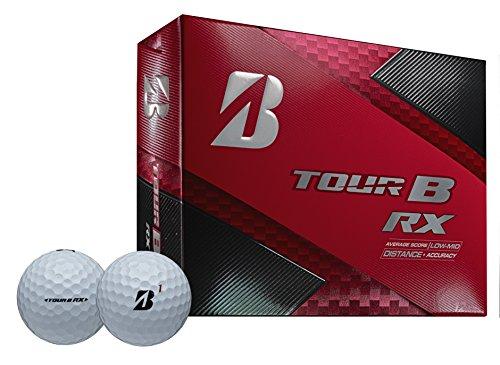 Bridgestone Golf 2018 Tour B RX Golf Balls, White (One Dozen) - 760778083048