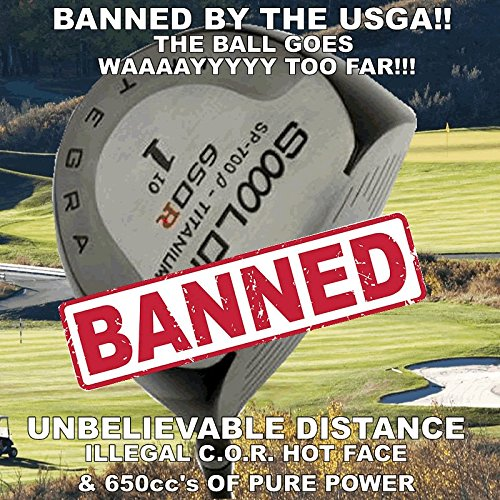 Illegal Long Non-Conforming World's #1 Largest Sooolong 650cc Big Golf Driver Component Head +30 Yards