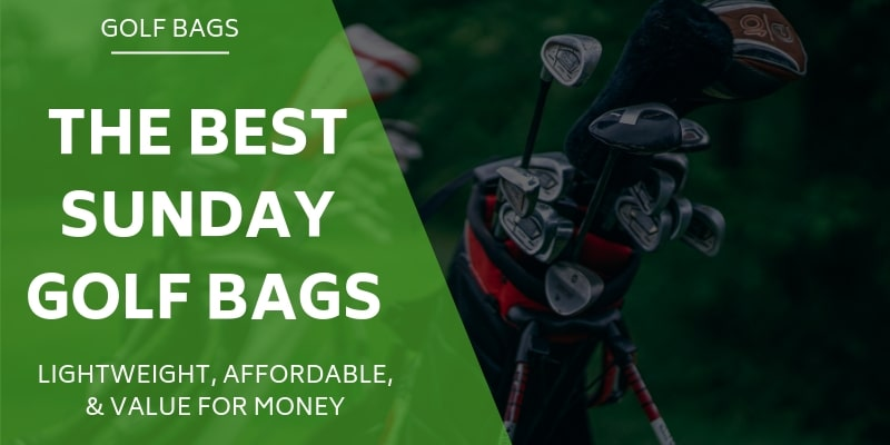5 Of The Best Sunday Bags For Golfers - Reviewed & Rated For 2021
