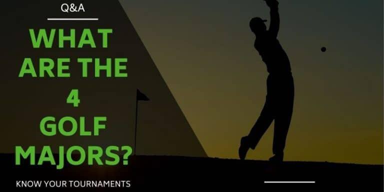 4 Golf Majors