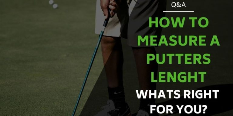 Measuring Putter Length